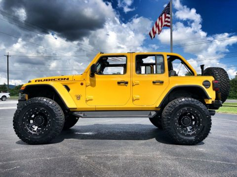 2018 Jeep Wrangler Rubicon Hellayella Lifted Leather NAV 38″ NITTOs na prodej