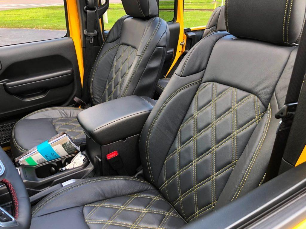 2018 Jeep Wrangler Rubicon Hellayella Lifted Leather NAV 38″ NITTOs