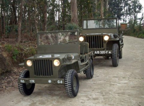 1942 Jeep Junior MB  – 2/3 scaled na prodej