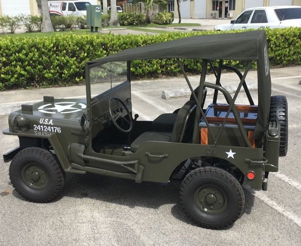 1942 Jeep Junior MB  – 2/3 scaled