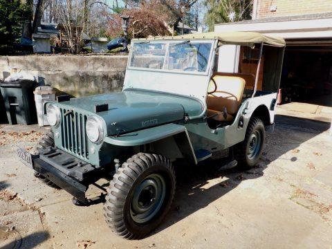 1948 Jeep CJ 2A Willys / Overland 4 x 4 na prodej