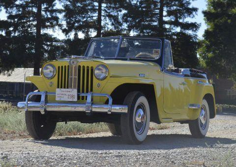 1949 Jeep Willys 439 VJ JEEPSTER na prodej
