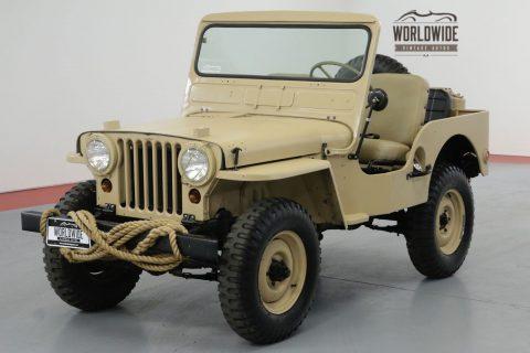 1951 Jeep M38 Restored REAL M38 4×4!! RARE Vintage 4×4. na prodej