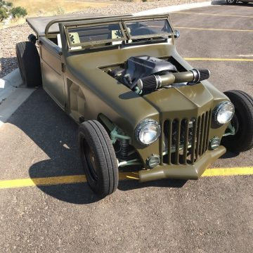 1952 Jeep Willys hot rod rat rod custom na prodej