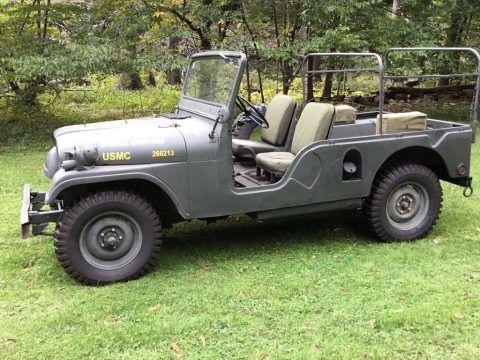 1963 USMC Willys M170 Military RARE RADIO Jeep na prodej