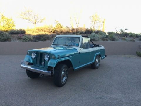 1967 Jeep Jeepster  Commando Convertible   Classics JEEP FUN na prodej