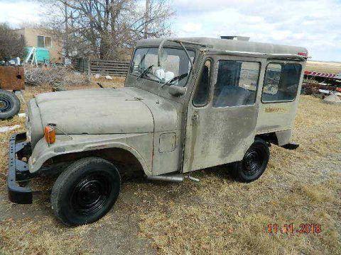 1971 Jeep CJ dj5b na prodej