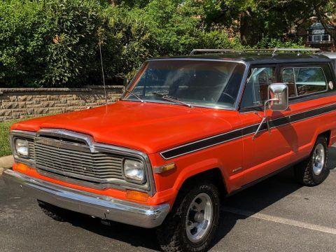 1979 Jeep Cherokee na prodej
