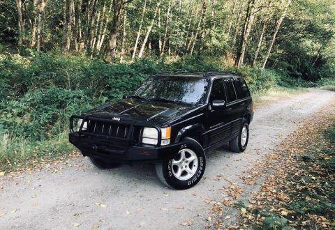 1998 Jeep Grand Cherokee 5.9 Limited na prodej