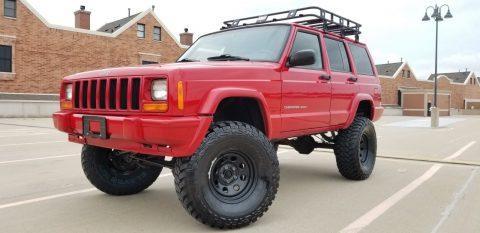 2000 Jeep Cherokee Sport Lifted na prodej