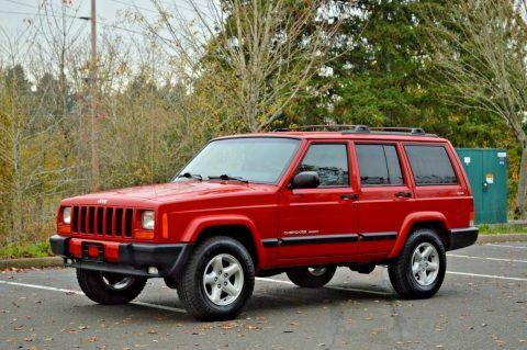 2001 Jeep Cherokee Sport ~ 4WD ~ 48K Miles na prodej