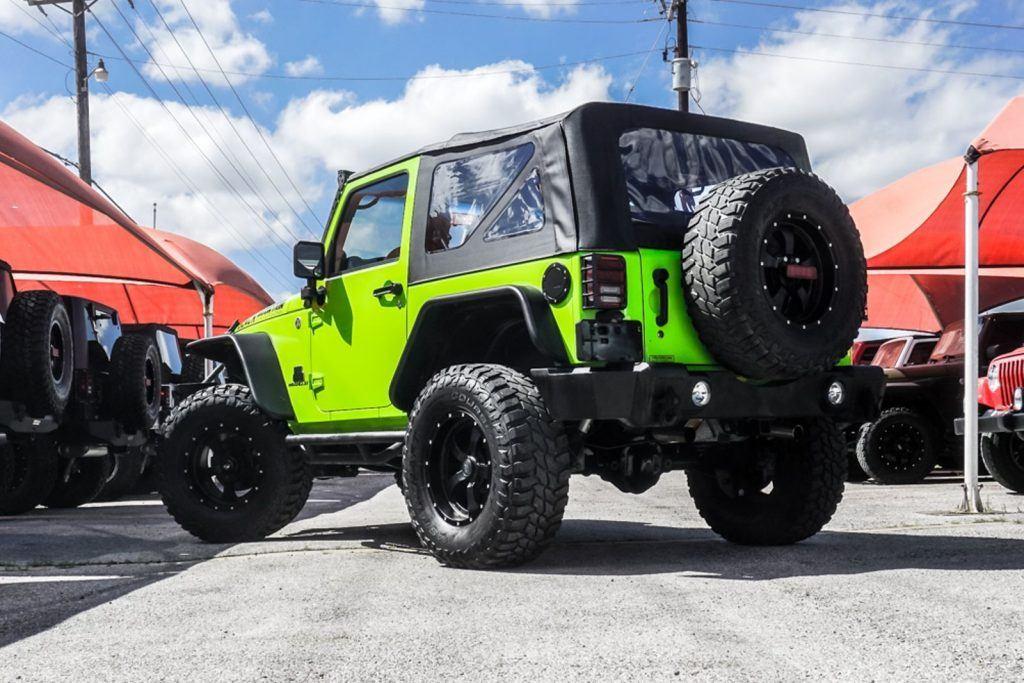 2012 Jeep Wrangler Sport Rock Crawler