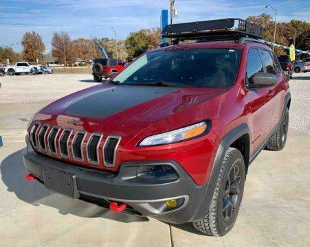 2015 Jeep Cherokee Trailhawk Sport Utility 4D na prodej