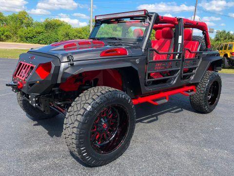 2018 Jeep Wrangler Grumper Lifted 4.88 Yukon Gears 37″ NITTOs na prodej