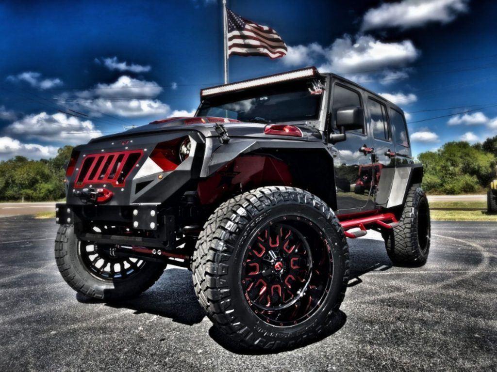 2018 Jeep Wrangler Grumper Lifted 4.88 Yukon Gears 37″ NITTOs
