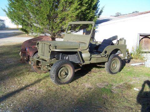 1942 Jeep Military na prodej