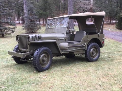 1944 Ford GPW Jeep na prodej