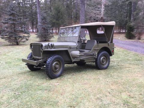 1944 Ford GPW na prodej