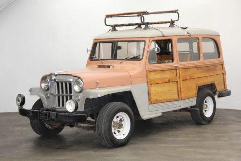 1954 Jeep Willys Overland Wagon na prodej