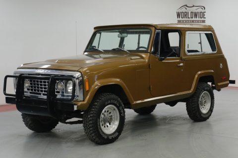 1972 Jeep Commando 304v8 AUTO 4X4 PS Convertible TOP na prodej