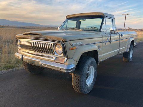 1973 Jeep J 4700 Townside j4000 na prodej