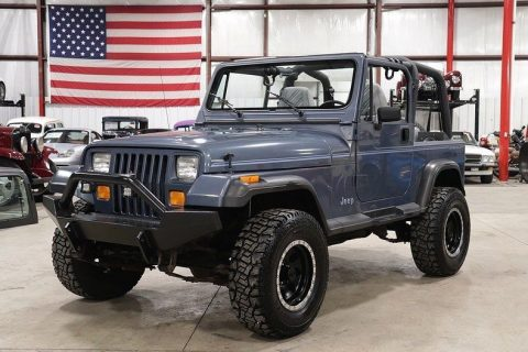 1992 Jeep Wrangler 32097 Miles Steel Blue Jeep 4.0L I6 Automatic na prodej