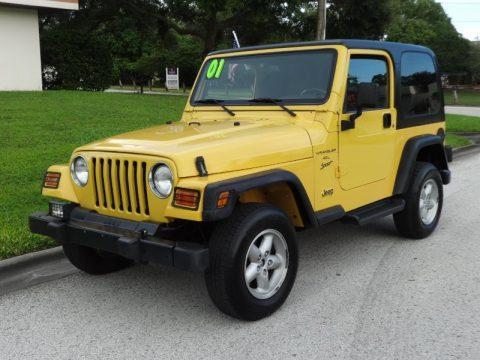2001 Jeep Wrangler Sport na prodej