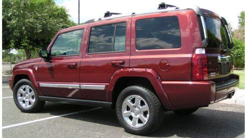 2007 Jeep Commander Limited na prodej