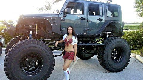 2007 Jeep Wrangler  Monster na prodej