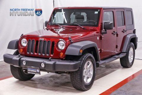2010 Jeep Wrangler Unlimited Sport na prodej