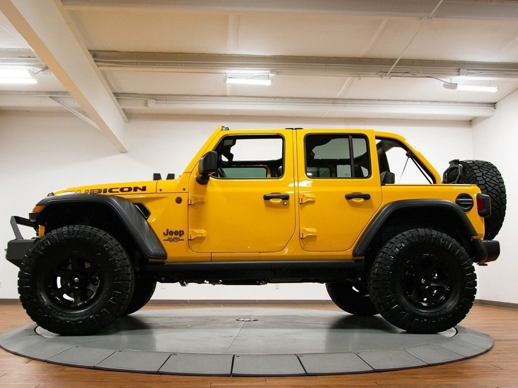 2018 Jeep Wrangler JL Unlimited Rubicon Ozark Mountain Edition