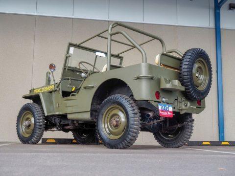 1943 Willys Jeep GPW na prodej