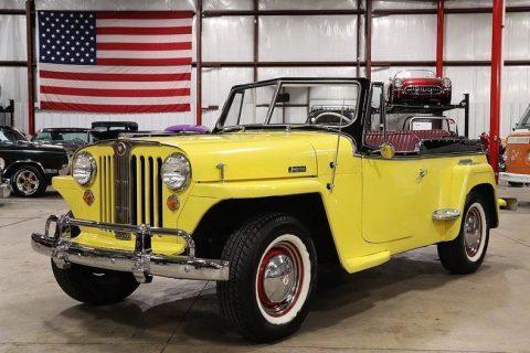 1949 Jeep Willys Jeepster na prodej