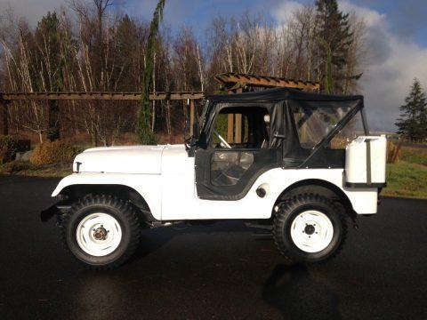 1958 Jeep CJ5 na prodej