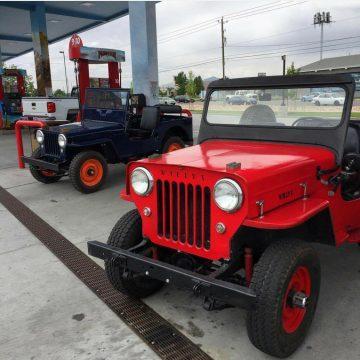 1960 Willys Jeep CJ3B na prodej