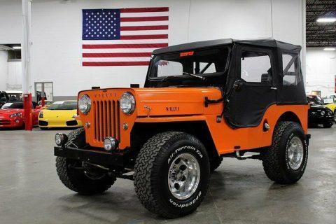 1962 Willys Jeep CJ na prodej