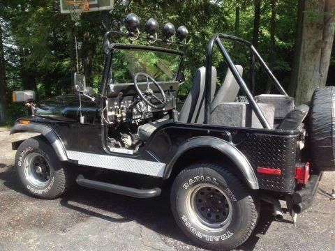 1975 Jeep CJ V8 na prodej