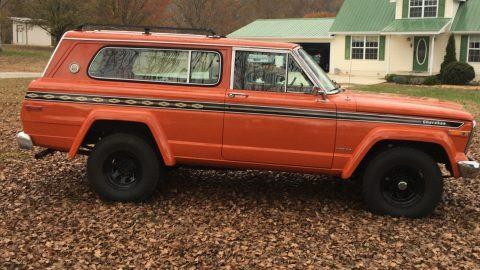 1979 Jeep Cherokee Cheif na prodej
