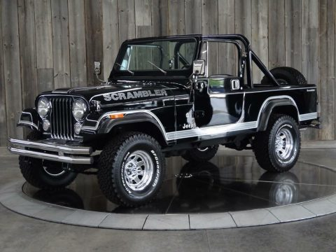 1983 Jeep CJ8 W/hard Top & Two Sets of Doors Fully Restored na prodej