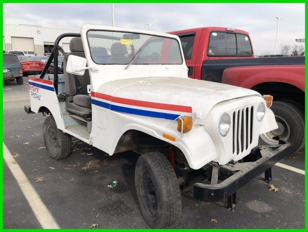 1983 Jeep Wrangler Mail Carrier Postal Service