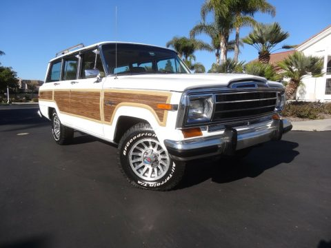 1989 Jeep Grand Wagoneer 5.9 Crate Motor na prodej