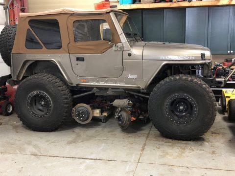 2003 Jeep Wrangler Rubicon na prodej