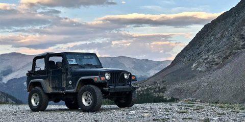 2004 Jeep Wrangler Sport na prodej