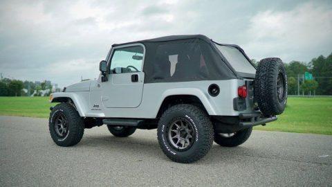 2005 Jeep Wrangler LJ na prodej