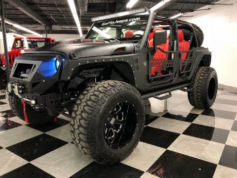 2018 Jeep Wrangler Custom Assault Package JL Wrangler 300HP na prodej