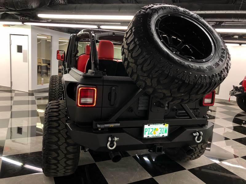 2018 Jeep Wrangler Custom Assault Package JL Wrangler 300HP