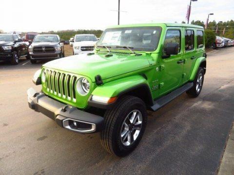 2019 Jeep Wrangler Sahara na prodej