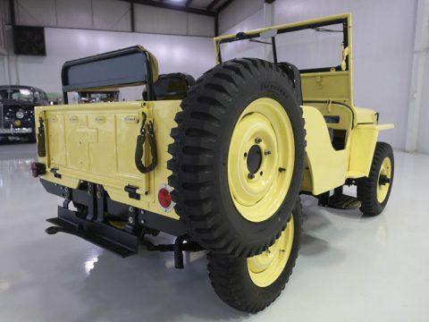1948 Jeep Willys CJ2A | Wonderfully restored na prodej