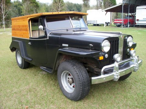 1951 Jeep Willys Station Wagon Woody   Custom na prodej