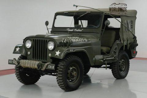 1957 Jeep CJ Restored M38 Tribute CJ. 4×4. na prodej